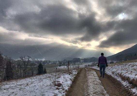 Auf dem Weg nach Hohenaschau