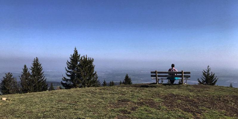 Ausblick vom Schwarzenberg
