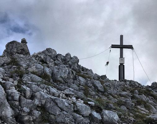 Soinwand Gipfelkreuz