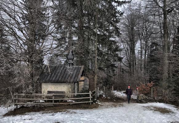 Kapelle an der Schmiedalm