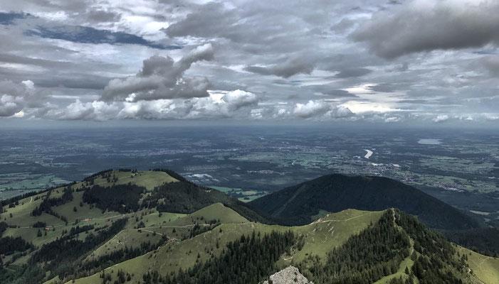 Gipfelpanorama von der Hochsalwand