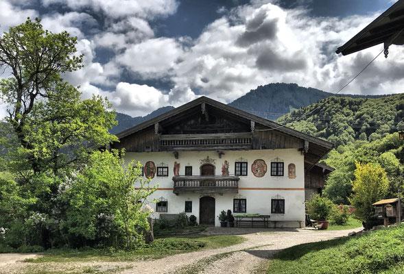 Bauernhaus in Gritschen