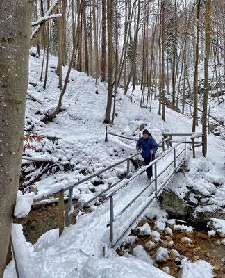 Brücke zur Wolfsschlucht