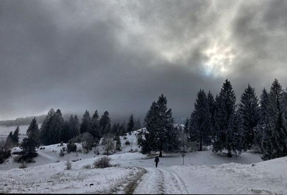 Auf dem Weg zur Frasdorfer Hütte