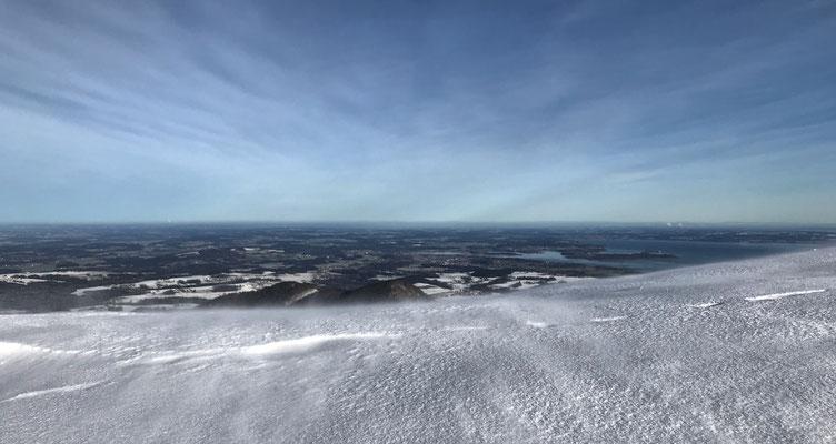 Eisiger Wind am Laubenstein