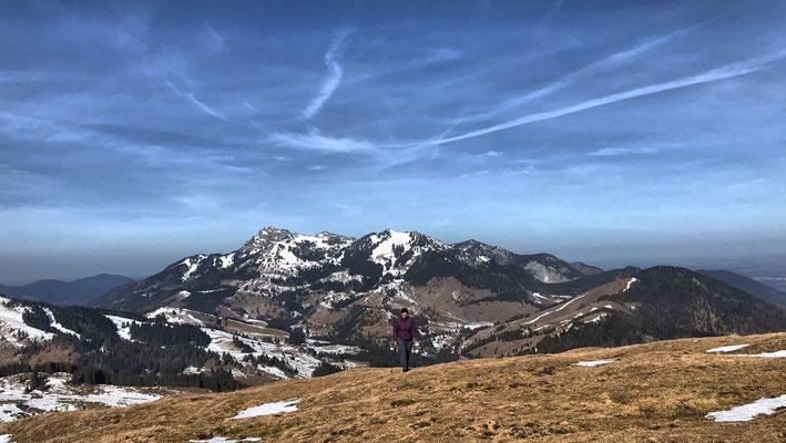 Aufstieg zur Brünnsteinschanze