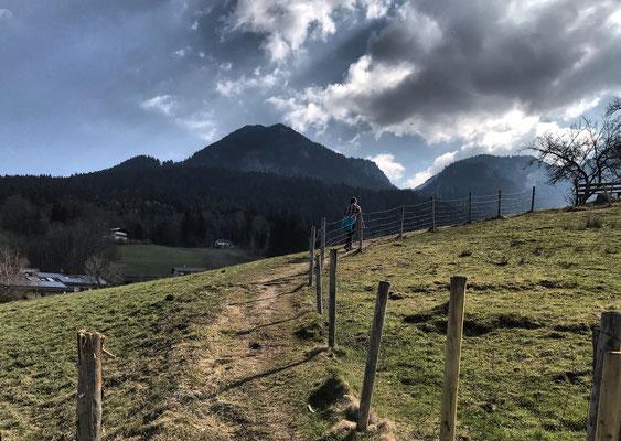 Auf dem Weg nach Birkenstein