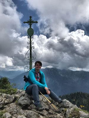 Am Klausenberg Gipfelkreuz