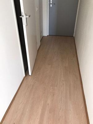 Eindresultaat complete vloer