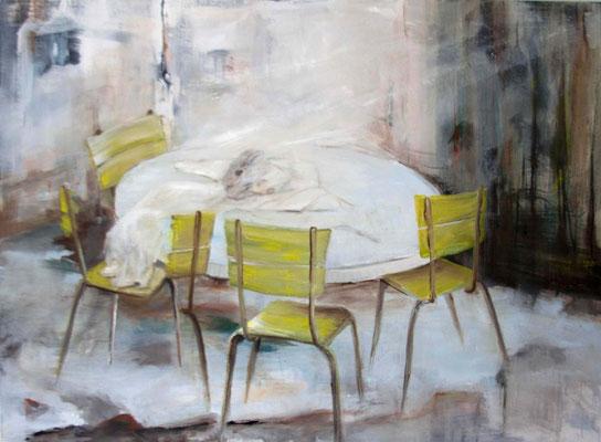 SECHS NEUE Malerei: Karin Hirschle