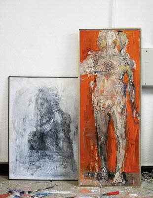 Im Atelier von Cornelia Weihe