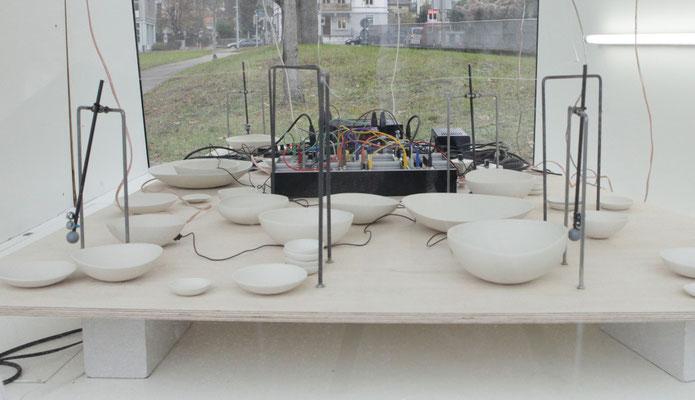Annie Aries, Transition, Audiovisuelle Installation, Foto: Annie Aries
