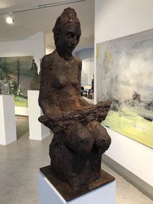 Cornelia Weihe, Blick in die Ausstellung, Foto: Rosemarie Vollmer