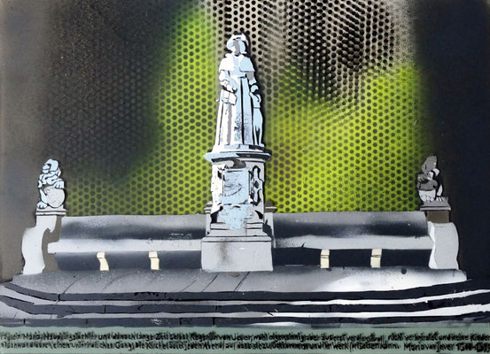 Frauke Beeck, Denkmal Maria von Jever; VG Bild-Kunst Bonn