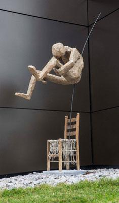 Karin Hirschle, Arschbombe, Installation
