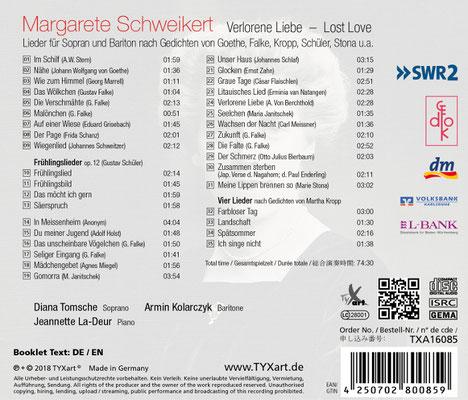 CD 3 2018: Verlorene Liebe