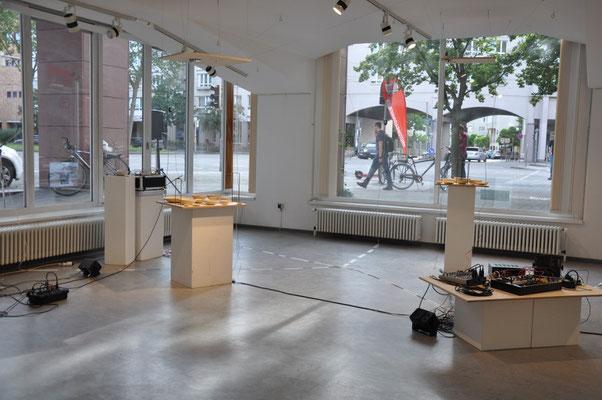Annie-Aries, TransitionI-III, Audiovisuelle Installation, GEDOK-Galerie; Foto: AML