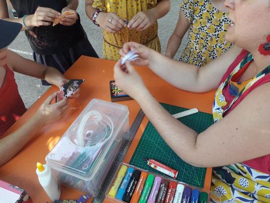 Ecole Sainte Marie - origami