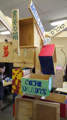 Collège Yvon Morandat Saint Denis les Bourg: boîte à partage
