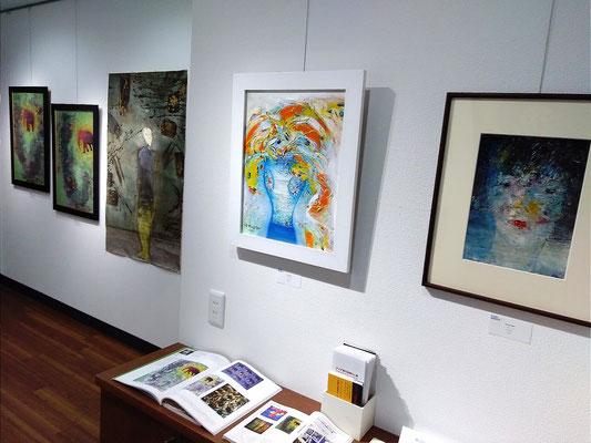 アジア現代絵画3人展 2017