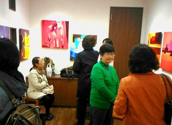 ミャンマー現代絵画展   2017
