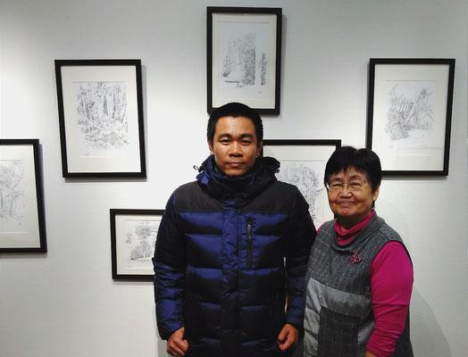 「タイの光と風(」 ジェット二パット・タットタイブーン展 2017