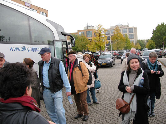 Angekommen in Amersfoort vorm Hotel Campanile