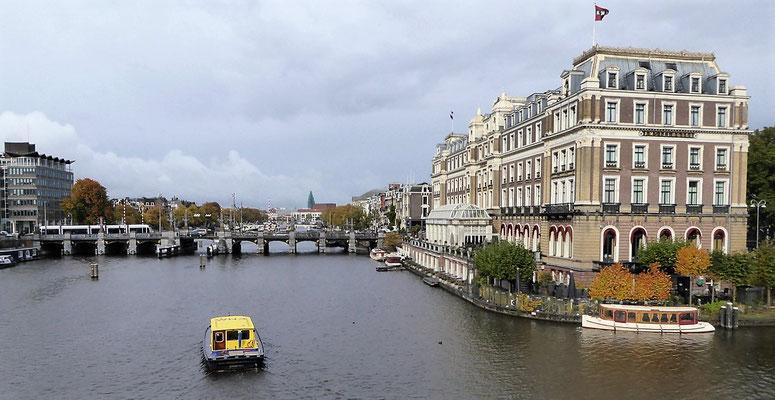 Die Amstel, nach der Amsterdam benannt wurde