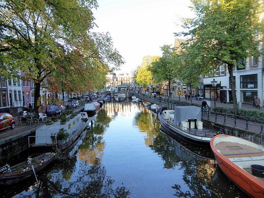 Die Altstadt von Utrecht durchziehen zahlreiche Grachten