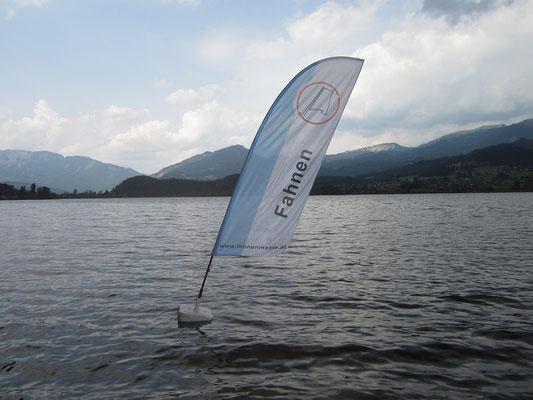 Werbung auf dem Wasser mit FloatingFlags