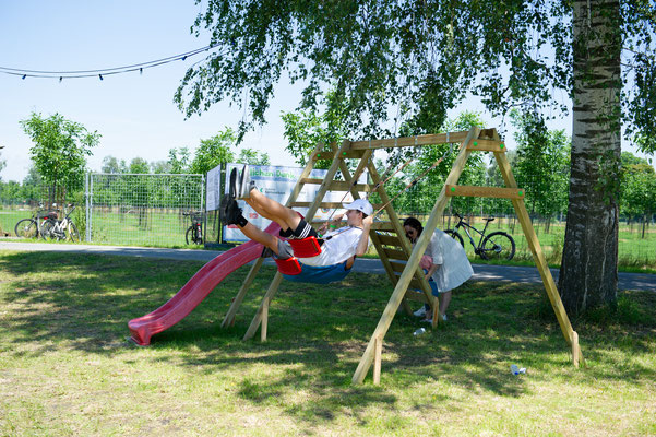 Rhyla Maislabyrinth Spielplatz