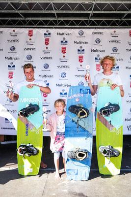 Freestyle Junioren v.l. Jan Burgdörfer (3), Jonas Ouahmid (1) nicht auf dem Bild, Jasper Lund (2)
