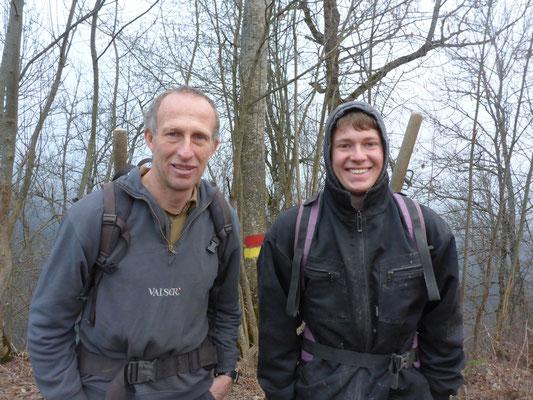 Walter und Hannes Casutt