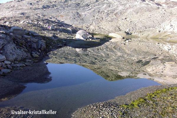 Strahler Zeltlager - Plattenberg Vals Graubünden Schweiz