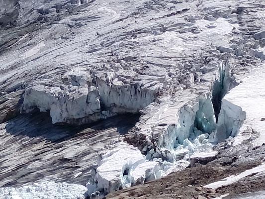 Gletscher - Grimsel Schweiz