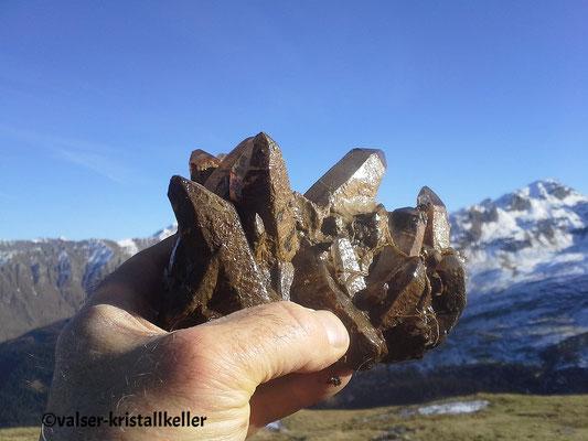 Bergkristall - Vals Graubünden Schweiz