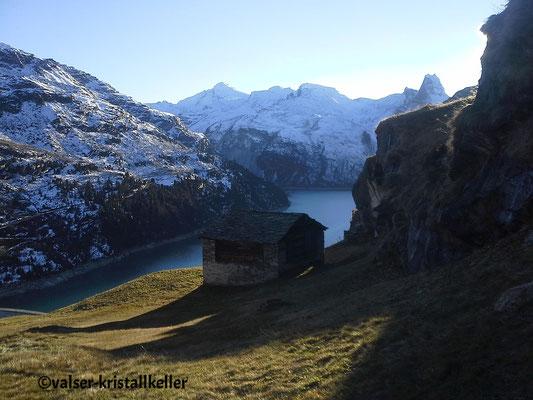 Zervreilasee - Vals Graubünden Schweiz