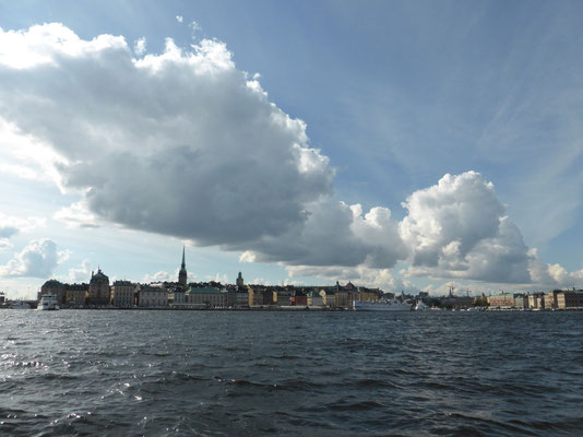 Gamla stan from the seaside