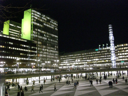 at Sergels torg