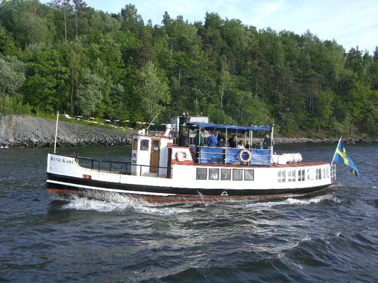 Steamer in the archipelago
