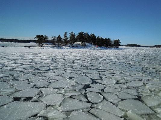 ice in the archipelago