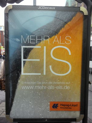 Short trip to Bremen - nice ad from Hapag-Lloyd