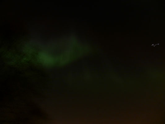 Northern lights in Stockholm!