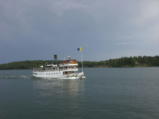 M/S Norrskär in the archipelago
