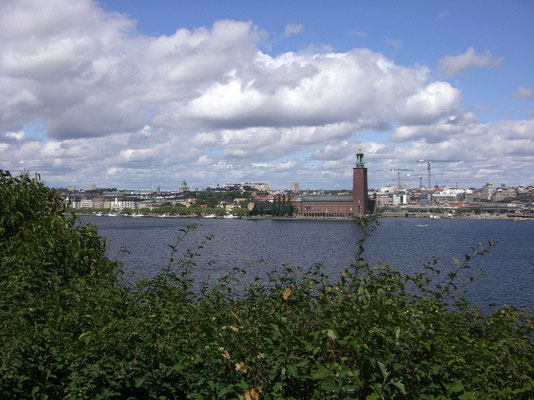 view over Kungsholmen