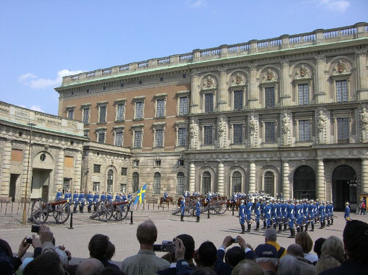 at the Royal palace