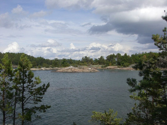 somewhere in the archipelago