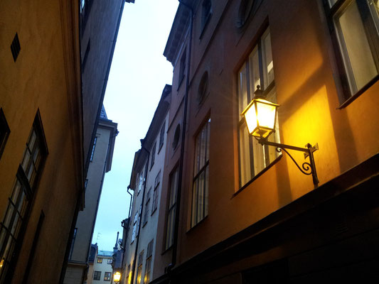 Winter afternoon in Gamla stan