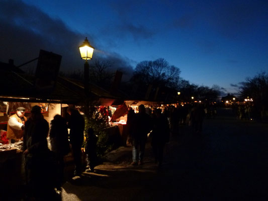 Christmas market at Skansen