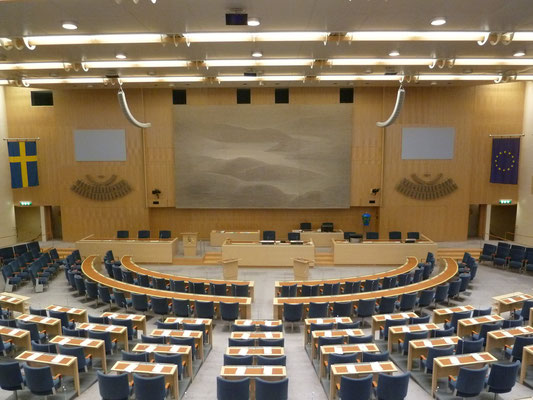 The Swedish Parliament (Riksdagen)